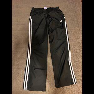 Adidas | Black wind breaker pants